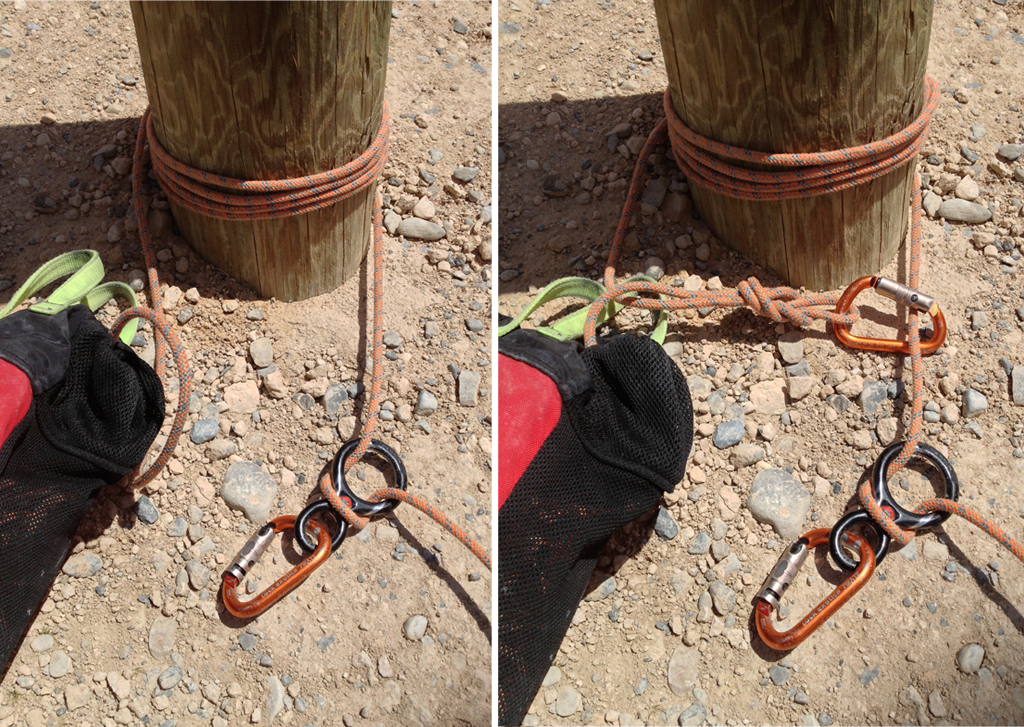 how to clean anchors and rappel