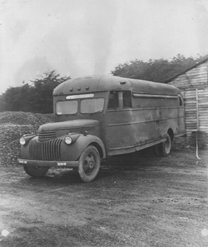 P.O. Box 1142 POW Transport Bus