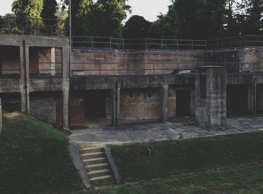 Battery Mount Vernon at Fort Hunt