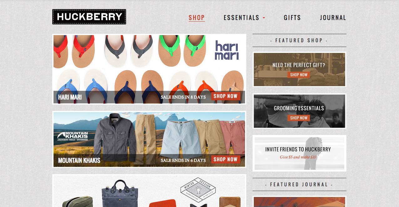 Huckberry Store