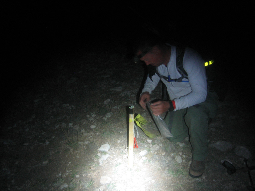 Land Navigation At Night