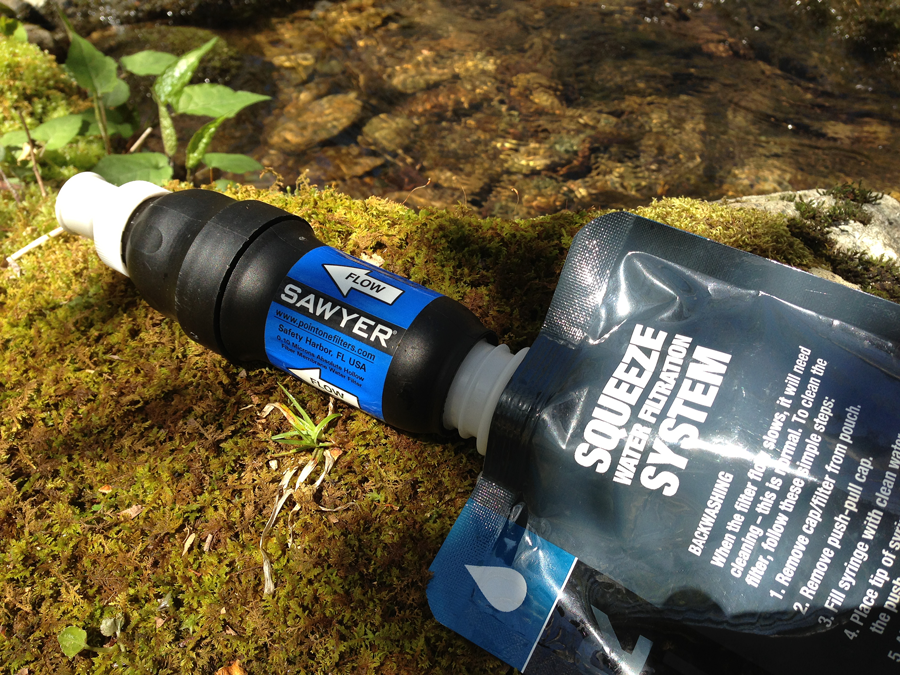 Sawyer Squeeze Filter System