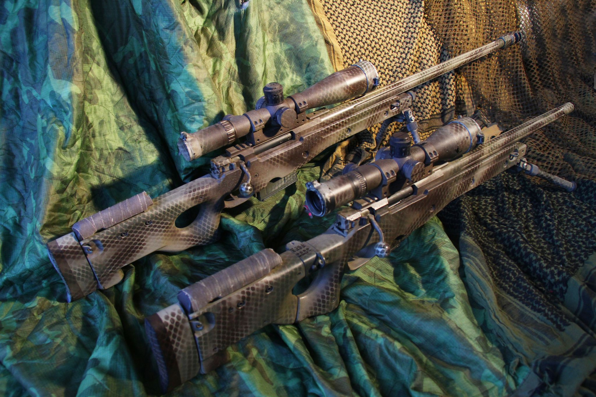 Sniper Challenge Rifles
