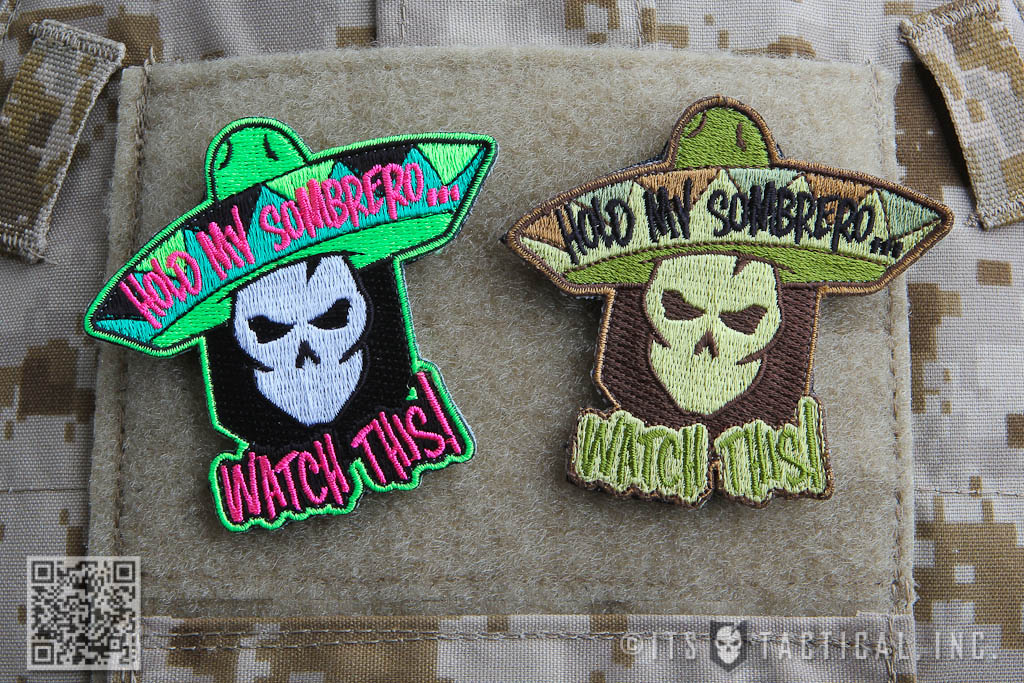 Hold My Sombrero Morale Patch