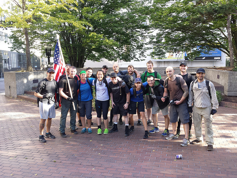 GORUCK Challenge 732 Class Photo