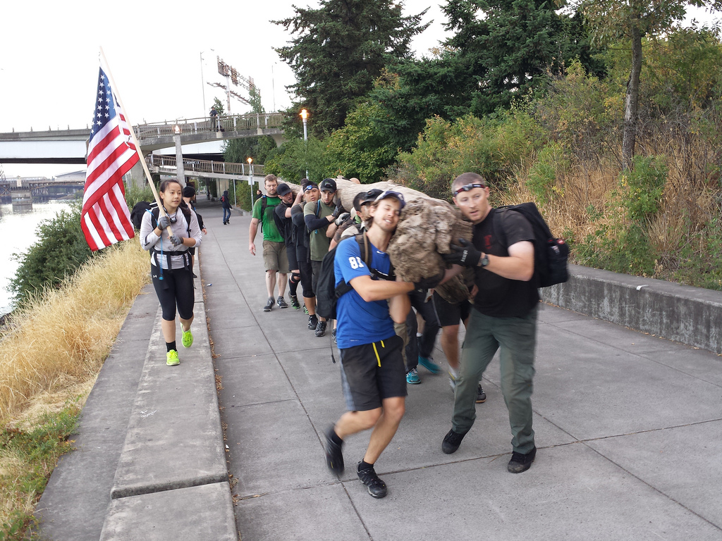Earning the GORUCK Tough Patch with Challenge Class 732 in