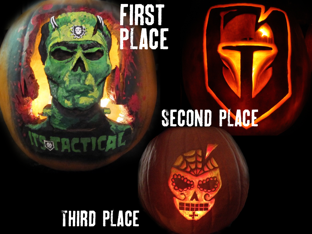 4th Annual Pumpkin Contest Winners