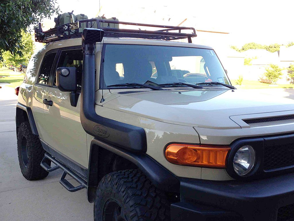 Fj Cruiser Modified : Modifying an fj cruiser for overlanding introduction and
