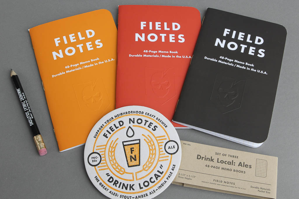 ITS Embossed Field Notes - Drink Local- Ales (Set of 3) 006