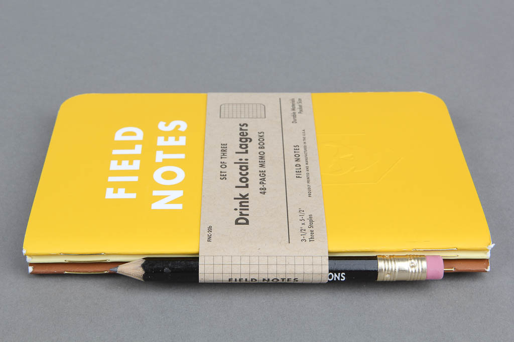 ITS Embossed Field Notes - Drink Local- Lagers (Set of 3) 003