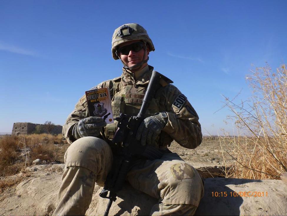Michael Kupari in Afghanistan