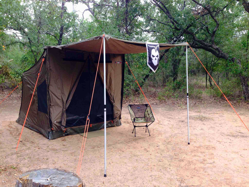Muster Tent