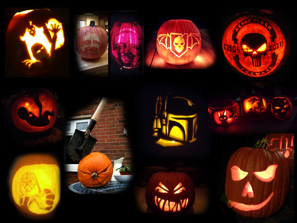 4th Annual Pumpkin Contest Submissions