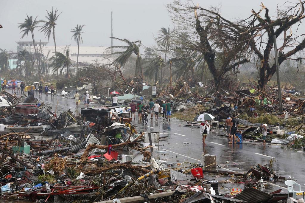 Typhoon Haiyan Photo by Erik de Castro, via Creative Commons 01