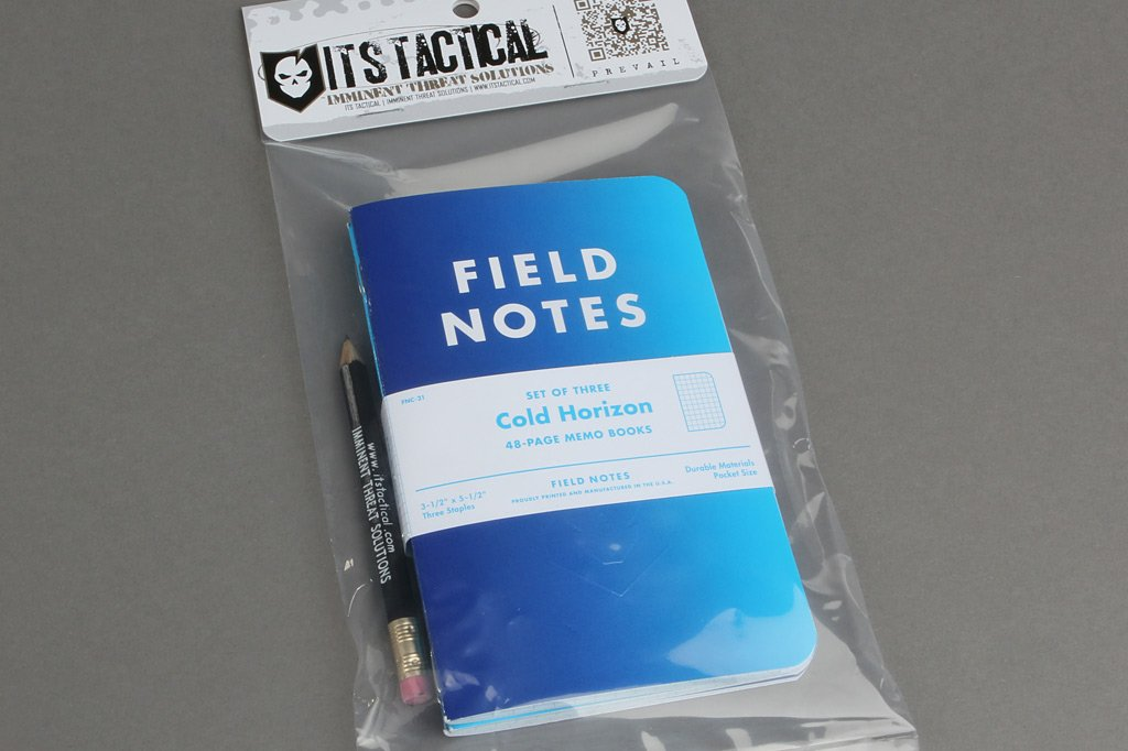 ITS Embossed Cold Horizon Field Notes