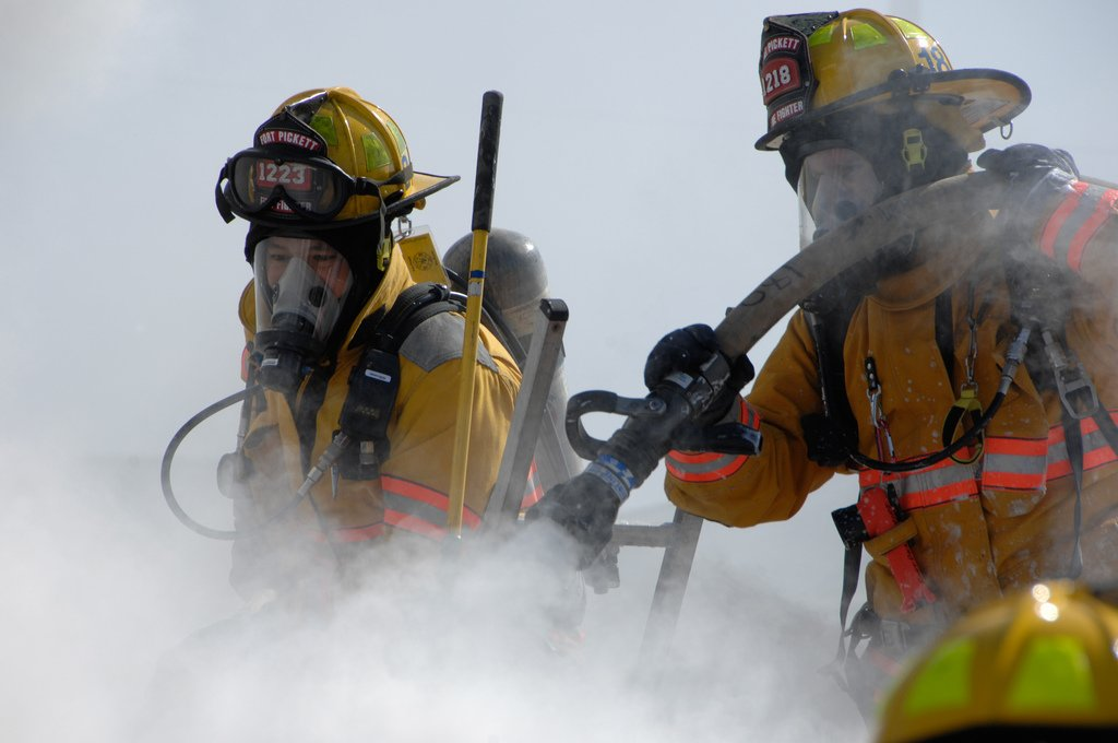 Firefighters photo by U.S. Army Staff Sgt. Tracy Hohmanl