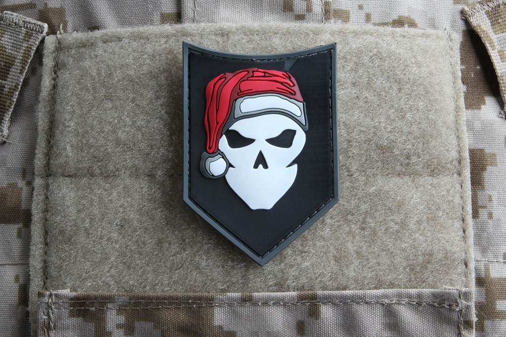 ITS Santa PVC Morale Patch