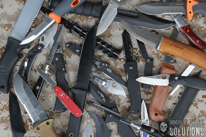 Variety of Knives