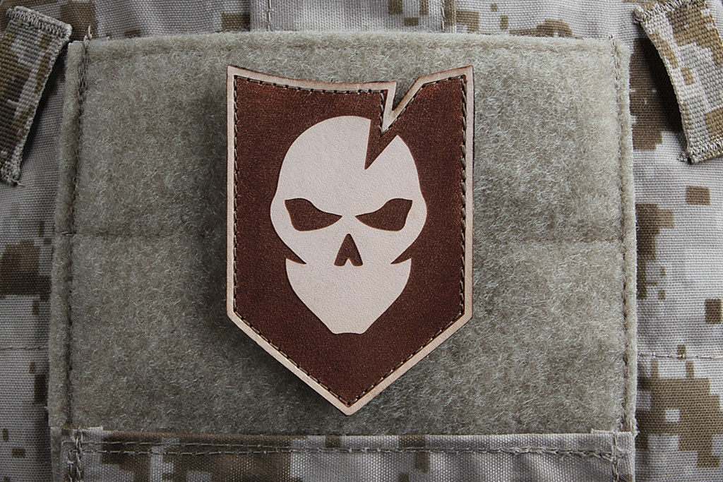 Leather ITS Logo Morale Patch
