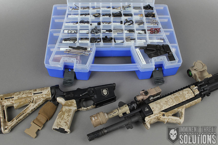 Ar 15 Spare Parts Organization Schematic For The Obsessive