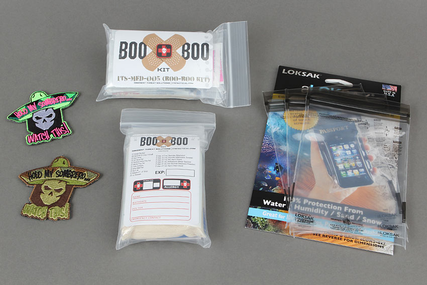 New Products Boo Boo Kit LOKSAK Bags
