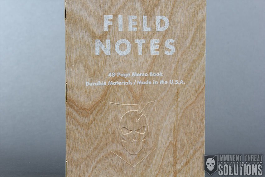 ITS Embossed Field Notes Shelterwood