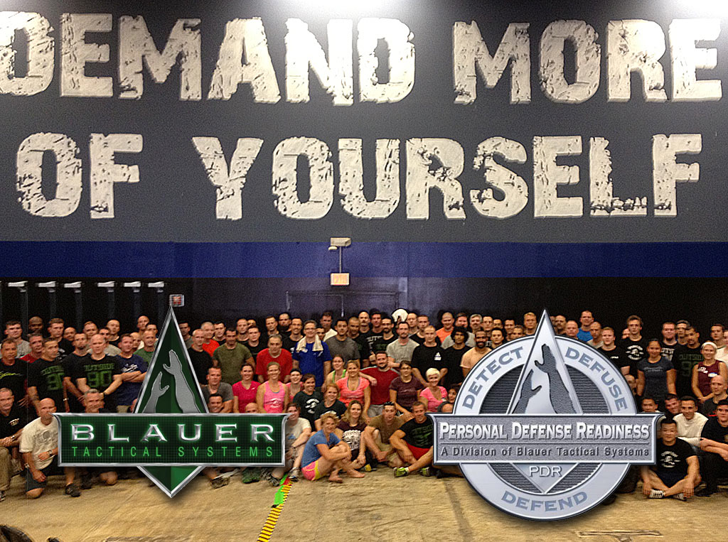 Tony Blauer Combatives Camp