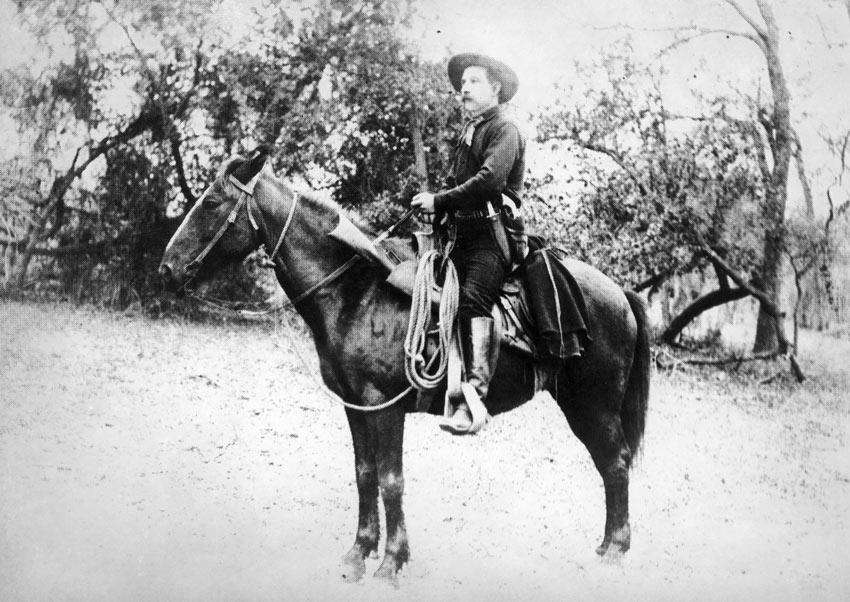 Texas Ranger Ira Aten