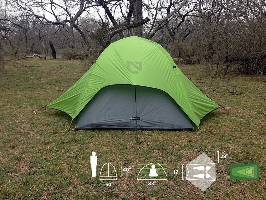 NEMO Obi 2P Tent & NEMO Obi 2P Tent Review: A Lightweight and Spacious Backpacking ...