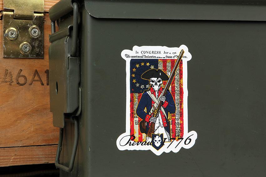ITS Spirit of '76 Stickers