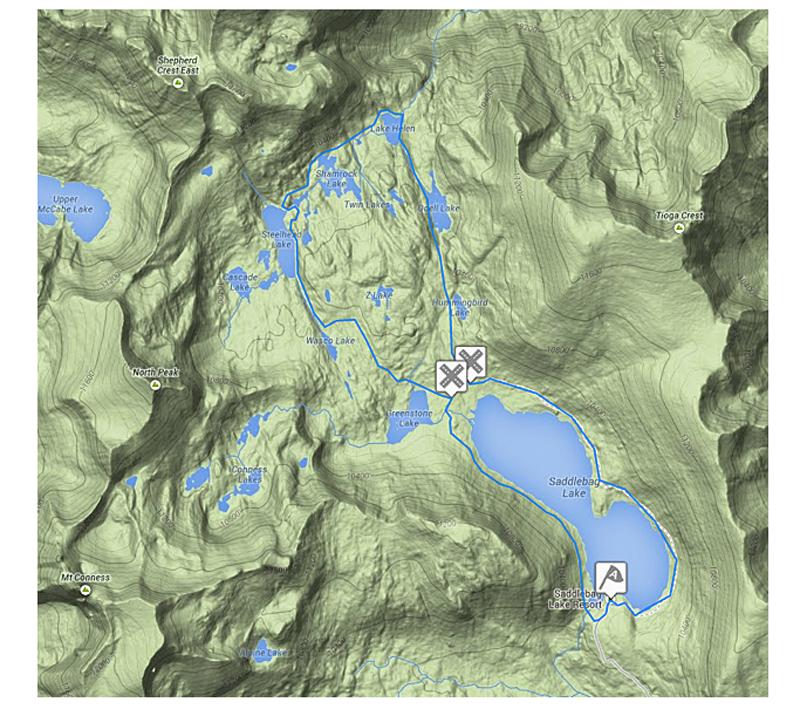 20 Lakes Basin Backpacking Trip
