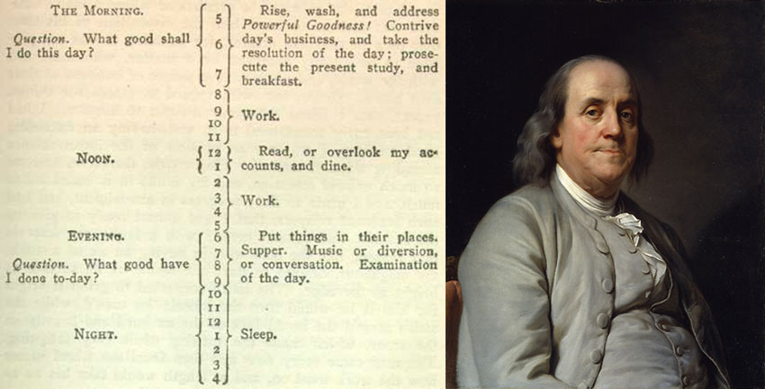 Ben Franklin Schedule