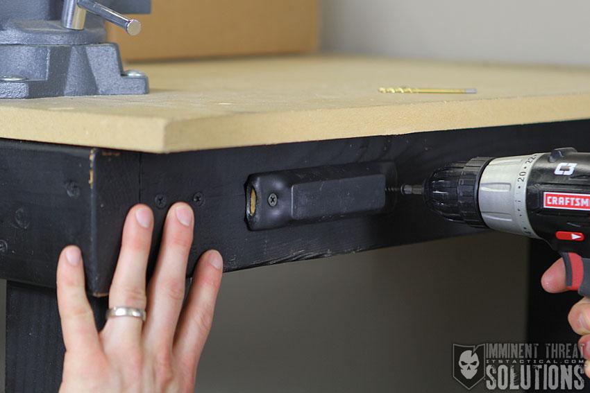 Diy Inexpensive Gun Magnet Mount Conceal Your Firearm