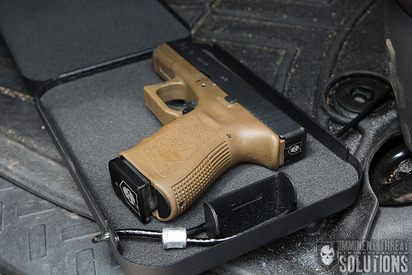 Firearm in Lock Box