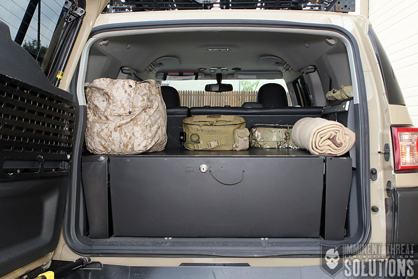 Cargo Drawer in Trunk