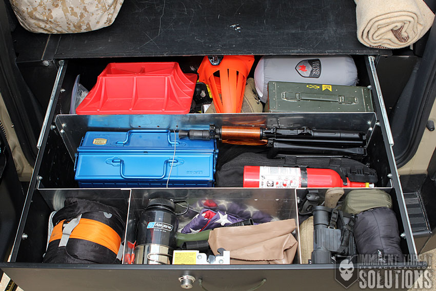 Security Drawer Contents