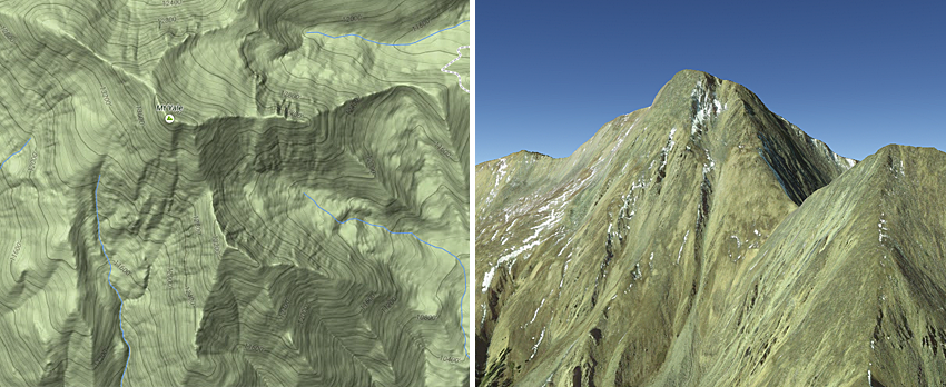 Topographic Map Example