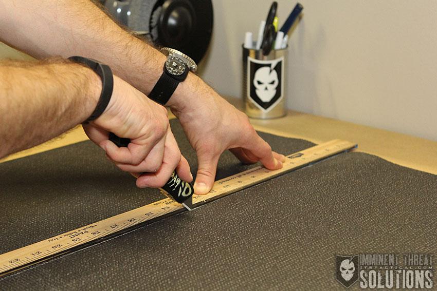 DIY Yoga Gun Mat
