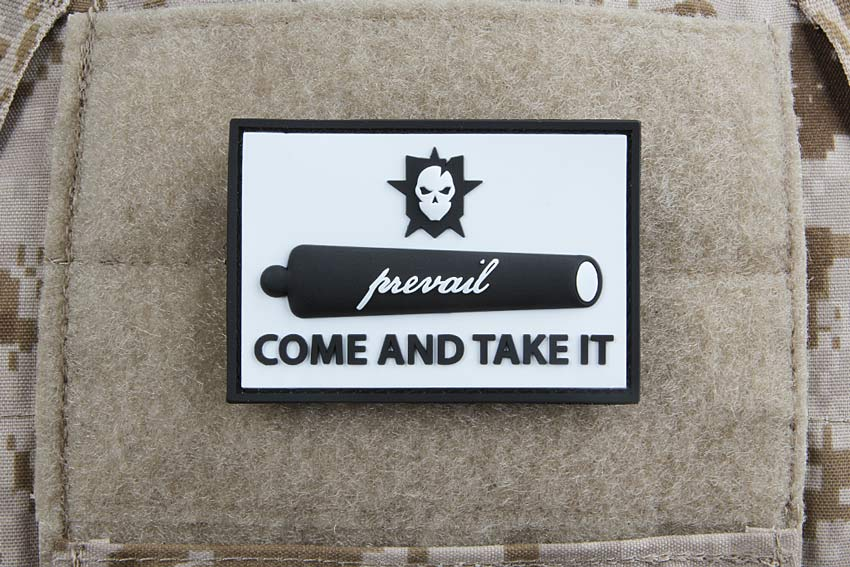 Come and Take It PVC Morale Patch