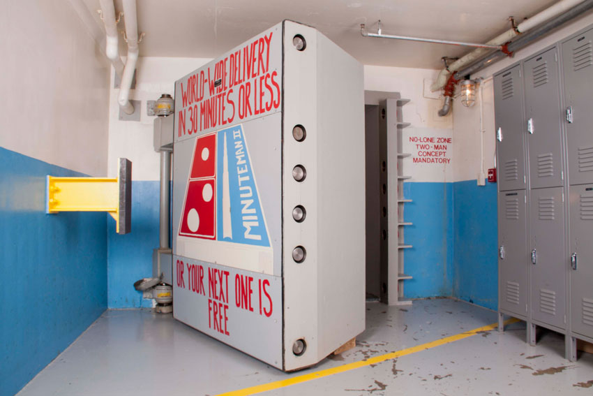 North Dakota Minute Man Missile Silo Door