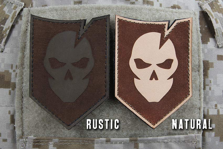 ITS Tactical Leather Morale Patches