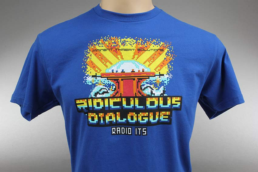 ITS Ridiculous Dialogue Podcast T-Shirt