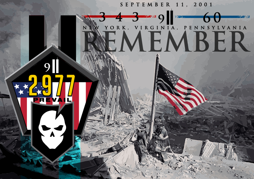 9/11 Memorial Graphic