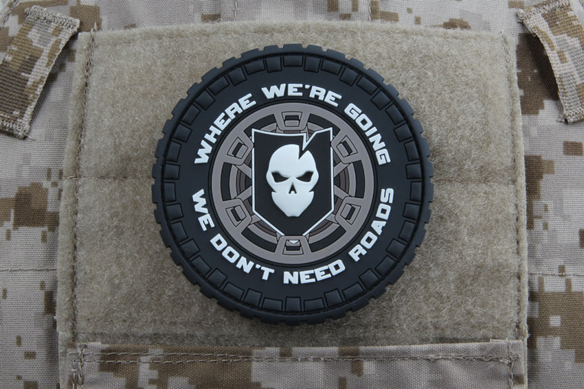 ITS Overland PVC Morale Patch