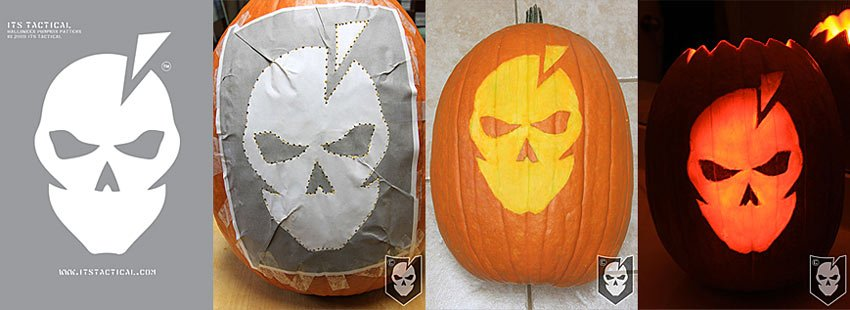 ITS Tactical Pumpkin Carving