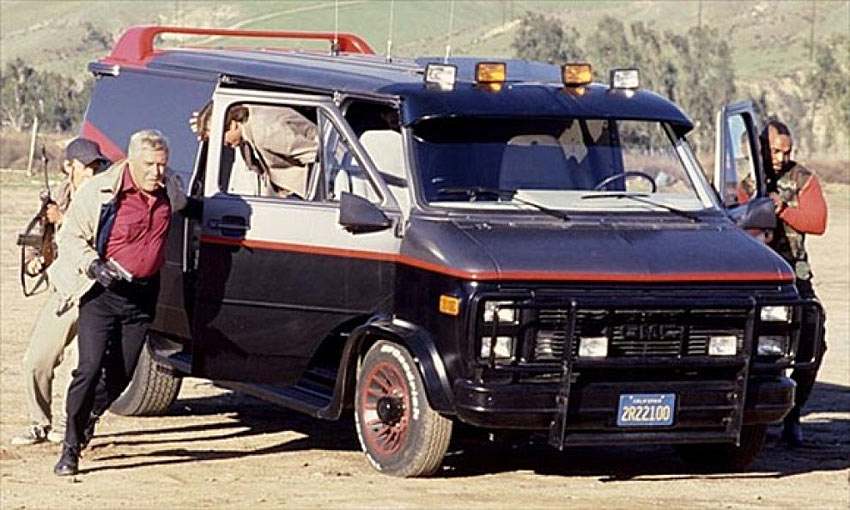Original Adventuremobiles A-Team Van