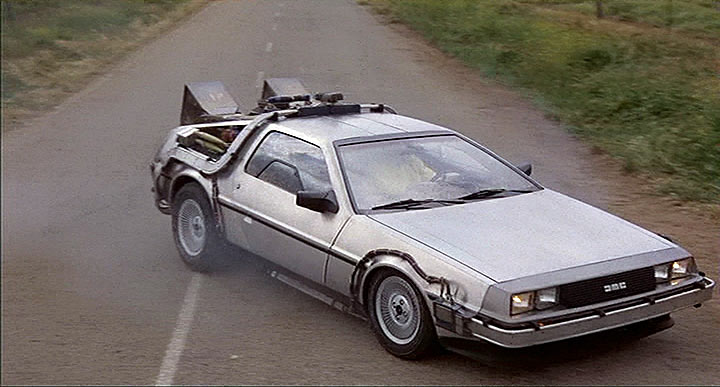 Original Adventuremobiles DeLorean