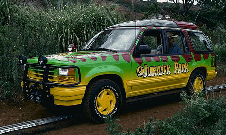 Original Adventuremobiles Jurassic Park