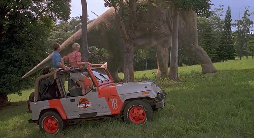 Original Adventuremobiles Jurassic Park