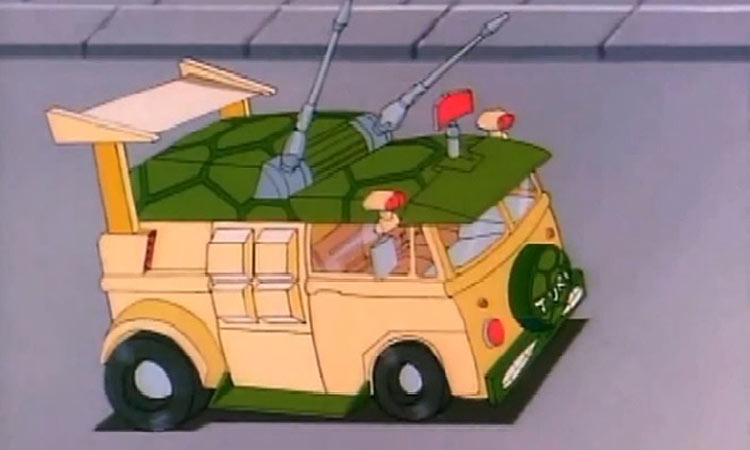 Original Adventuremobiles Tennage Mutant Ninja Turtles Van